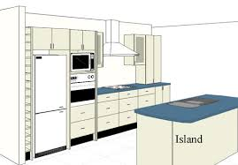 one wall kitchen with island one wall kitchen layout with island porentreospingosdechuva