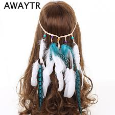 bohemian hair accessories aliexpress buy awaytr fashion hair accessories bohemian