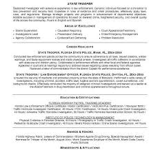 police detective resume sergeant cover letter sample police