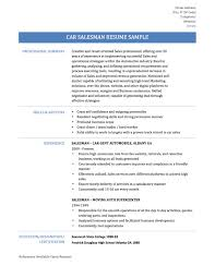 Salesman Resume Sample by Car Salesman Resume Examples Free Resume Example And Writing