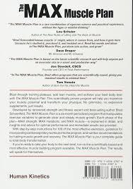 m a x muscle plan the brad schoenfeld 8601405399830 amazon
