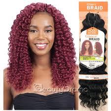 model model crochet hair model glance crochet braid bahama curl 12