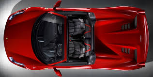 458 spider rear s 458 spider mid rear engined berlinetta with