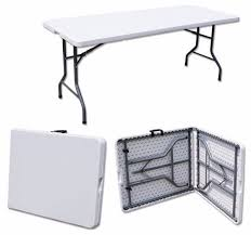 Folding Table With Handle Light Portable 6 Foot Folding Table With Handle For Rent