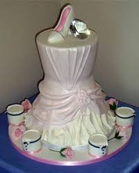 wedding dress cake designs