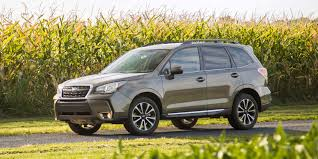 subaru forester concept 2017 subaru forester vehicles on display chicago auto show