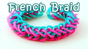 braid band rainbow loom braid bracelet tutorial how to make a loom