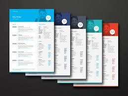 25 best modern cv samples images on pinterest resume design