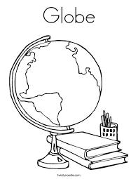 globe coloring crafts globe