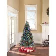 slim christmas tree with led colored lights vickerman 8 5 prelit slim camdon fir artificial christmas tree with