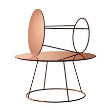 coffee table attractive round coffee table with drawer new copper