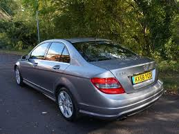 mercedes c220 amg sport saloon used 2008 mercedes c class c220 cdi sport for sale in