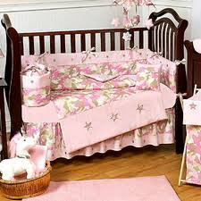 Jojo Crib Bedding Jojo Crib Bedding Pink Camo Uniquelinensonline