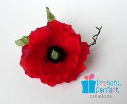 red poppy uk archives presentperfect creations original flower