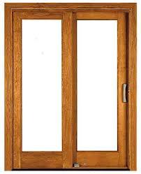 Wood Patio Door Sliding Patio Door Wooden Glazed Architect Series