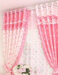 pink and white heart curtains pink and girly pinterest pink
