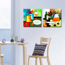 painting for kitchen 2 panel modern paintings kitchen art cuadros decoracion flowers