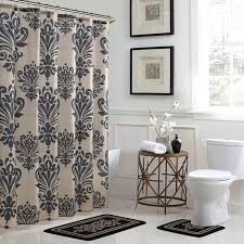 bath fusion reverly damask 18 in x 30 in bath rug and 72 in x
