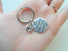 baby keychain your breath took mine away keychain jewelryeveryday