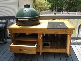 large green egg table big green egg table by skylark53 lumberjocks com woodworking