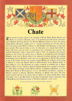Chate by Surname Database Chate Last Name Origin