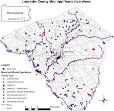 Map Of Lancaster County Pa Discovering And Characterizing Abandoned Waste Disposal Sites