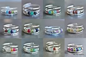 grandmother s ring grandmother s s birthstone ring 3 4 or 5 stones 2