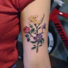 70 tatuagens de flores criativas só as mais lindas