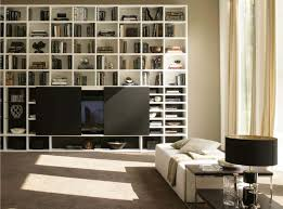 Bookcase System Logo 250 Wall Unit With Bookcase System By Sangiacomo Italy