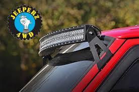 toyota tacoma light bar roof mount jeep xj cherokee 50 inch curved led light bar mounting brackets