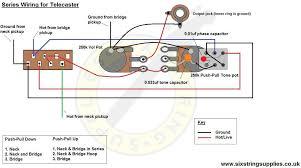 six string supplies u2014 telecaster wiring in series