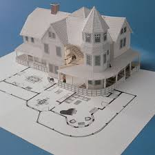 3d home kit by design works design works 3 d home kit all you need to construct a model of