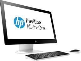 ordinateur de bureau tout en un hp ordinateur tout en un hp pavilion 27 n200nk i7 mora bureau