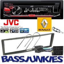 renault scenic 2002 on jvc bluetooth cd usb mp3 aux in car stereo