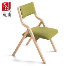 Folding Dining Chairs Wood Domain Wood Dining Chair Fabric Folding Chair Study Computer