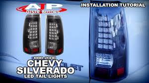 99 06 chevy silverado led lights install ajp distributors