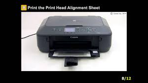 canon pixma mx920 manual pixma mg6620 performing print head alignment youtube