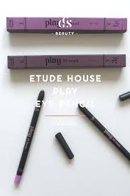 etude house play 101 eyeliner pencil in 3 u0026 18 review