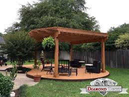 Gazebo Or Pergola by Pergola Builders San Antonio Diamond Decks San Antonio Tx