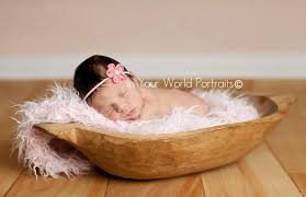 Baby Bathtub Prop Frosted Light Pink Mongolian Faux Fur Rug Photography Prop Newborn
