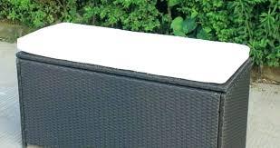 patio bench with storage outdoor patio bench storage box outdoor