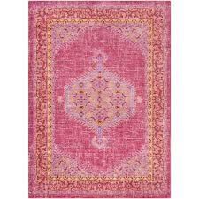 9 X 11 Area Rug Surya Germili Bright Pink 9 Ft X 11 Ft 10 In Indoor Area Rug