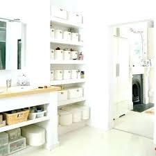 bathroom cabinet organization ideas open bathroom storage small bathroom storage ideas white finish