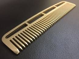 metal comb limited edition brass combs metal comb works