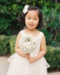 flower girl hair flower girl hairstyles that are and comfy martha stewart