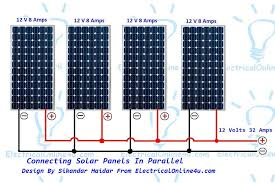 wiring solar panels in parallel u0026 solar parallel calculation