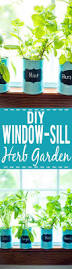 Easy Herbs To Grow Inside How To Make An Indoor Window Sill Herb Garden Window Sill Food