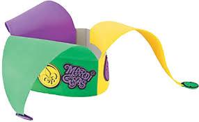 mardi gras hat mardi gras jester hat craft kit carlex online