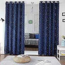 Short Curtains Amazon Com Wpkira Window Treatments Short Curtains Grommet Room