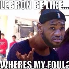 Lebron James Crying Meme - lebron james sneakers in game 3 may have jinxed the heat